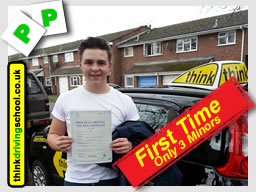 mellissa from bordon passed with drivng instructor jamie johnson from think driving school