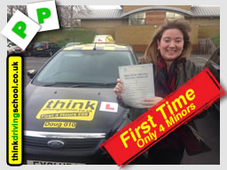 happy think driving school learner