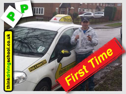 happy think driving school learner from slough