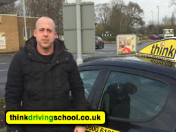 Ross Dunton from think driving school Guildford