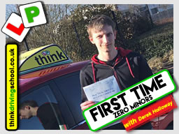 Derek Holloway happy driving school learners Bracknell