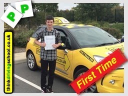 Passed with think driving school in august 2014