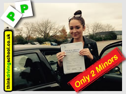 passed with Geniene from Liphook driving school  school