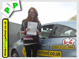 Passed with think driving school in January 2015