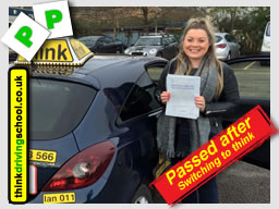 passed with driving instructor from alton ian weir ADI