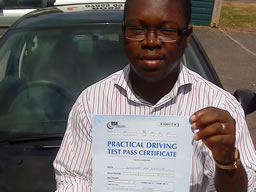 olasvnkani guildford  happy with think driving school