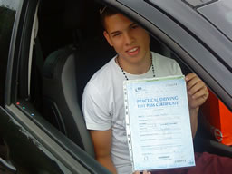 callum guildford  happy with think driving school