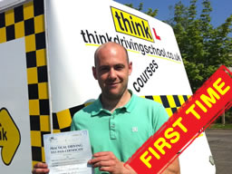 driving lessons High Wycombe Adam Iliffe think driving school B+E
