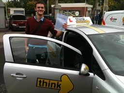edward liss  happy with think driving school