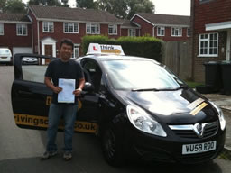 abner bordon happy with think driving school