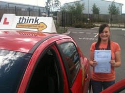 christina bordon happy with think driving school
