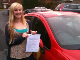 ell's bordon happy with think driving school