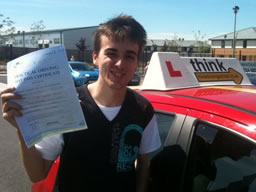 james bordon happy with think driving school