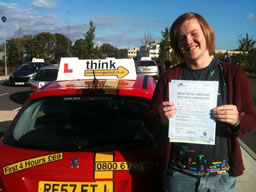 paul bordon happy with think driving school